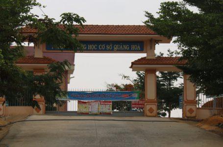 Trường THCS Quảng Hòa – Đăk Nông  Ảnh: Internet