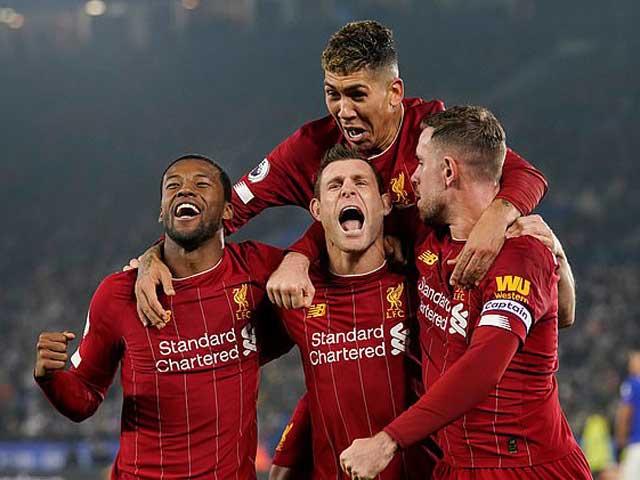 Liverpool chính thức vô địch Ngoại hạng Anh