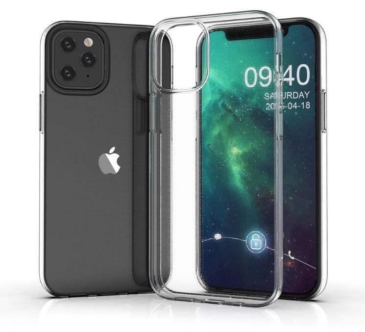 """Hình ảnh iPhone 12 Pro Max rò rỉ tiết lộ về thiết kế và """"tai thỏ"""" hinh anh iphone 12 pro"""