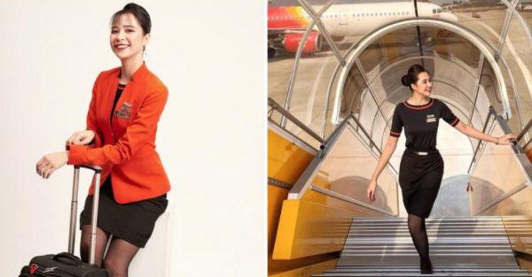Tuổi trẻ tài cao 22 tuổi cô gái quê Đắk Lắk vừa nhận chức tiếp viên trưởng một hãng hàng không