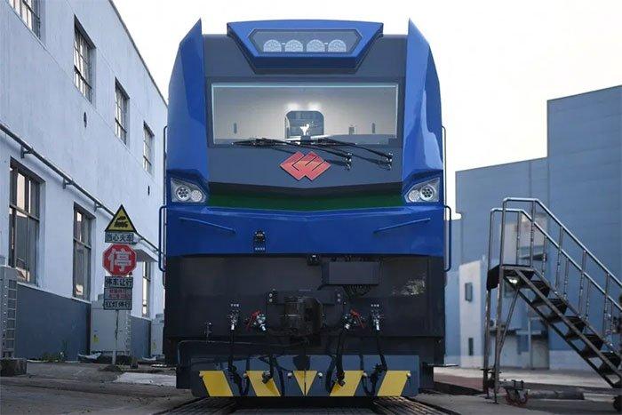 Trung Quốc sản xuất đầu máy tàu điện sức kéo 10.000 tấn