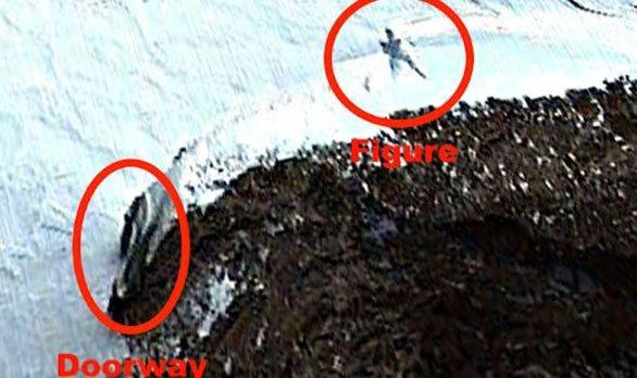 Phát hiện mới đã tìm thấy người ngoài hành tinh cao 20m ở Nam Cực?