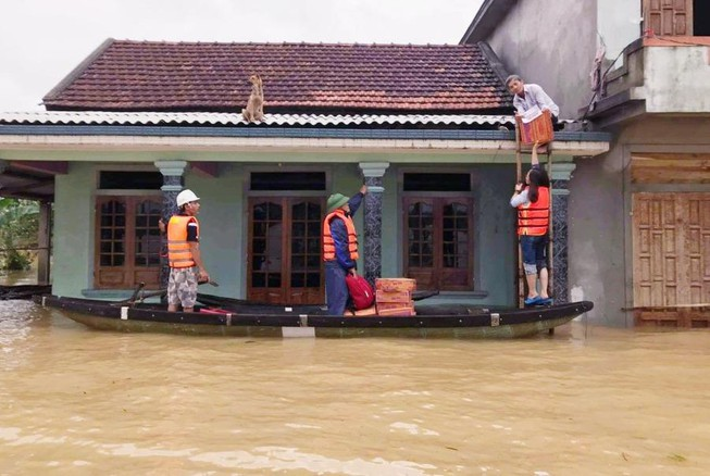 Cảnh báo thiên tai cấp 3 do lũ lên trên sông Nam Trung Bộ, Tây Nguyên