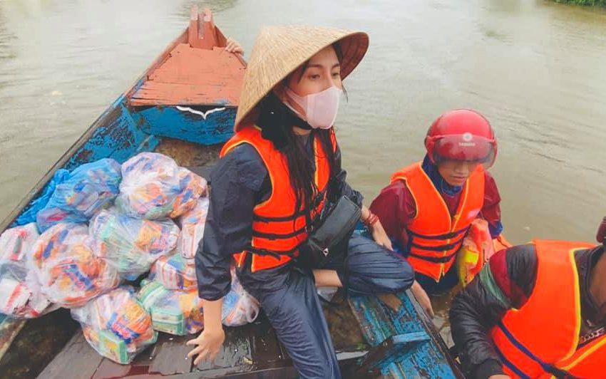 Thủy Tiên viết tâm thư công bố số tiền quyên góp miền Trung cán mốc 100 tỷ