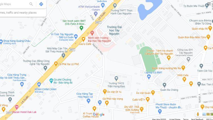 """""""Nguyễn An Ninh"""" con đường ám ảnh mọi sinh viên Đăk Lăk"""