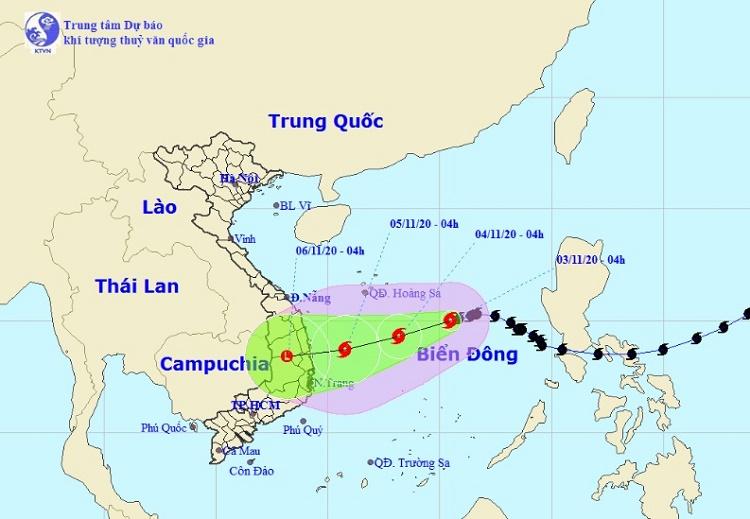 Mới: Bão số 10 bất ngờ đổi hướng, khả năng mạnh thêm hướng vào Quảng Ngãi – Khánh Hòa