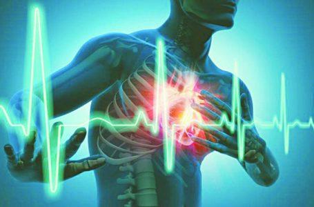 Nhịp tim không đều minh họa (nguồn ảnh: internet)