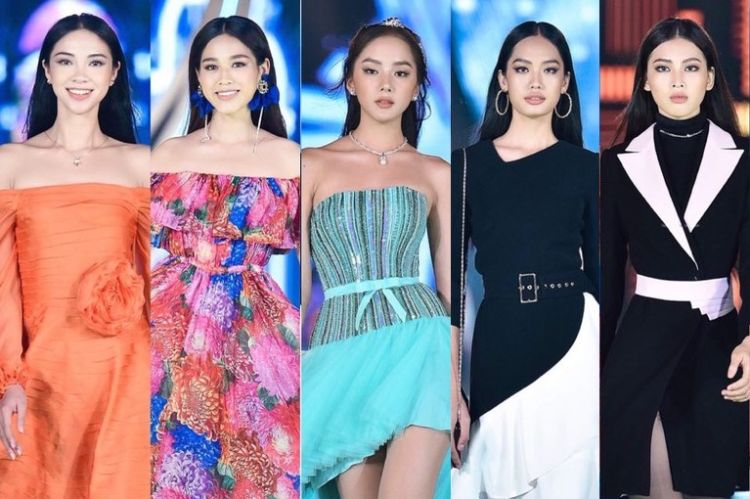 top 5 người đẹp thời trang