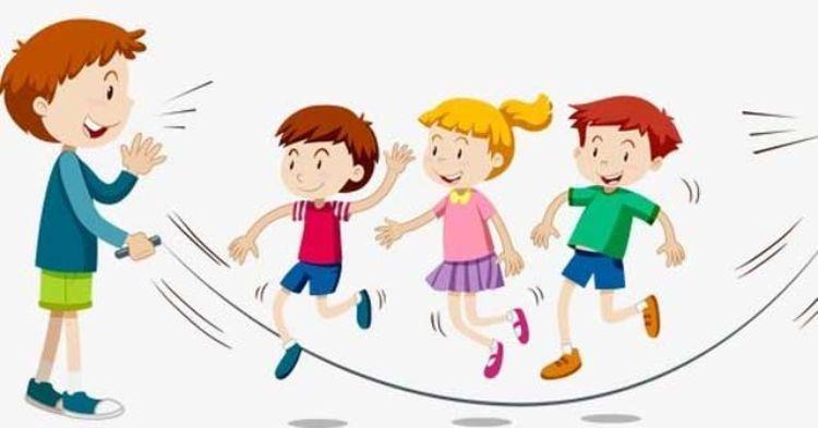 nhảy dây nhóm