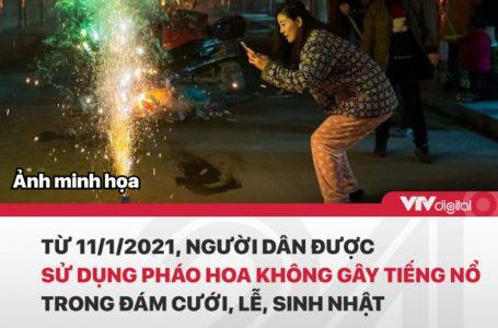 Ngày 27/11/2020, Chính phủ ban hành Nghị định 137/2020/NĐ-CP về quản lý, sử dụng pháo.