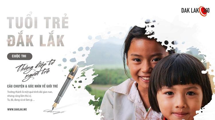 Thể lệ cuộc thi viết về Tuổi Trẻ Đăk Lăk 2020