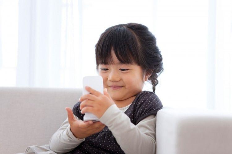 trẻ em và điện thoại