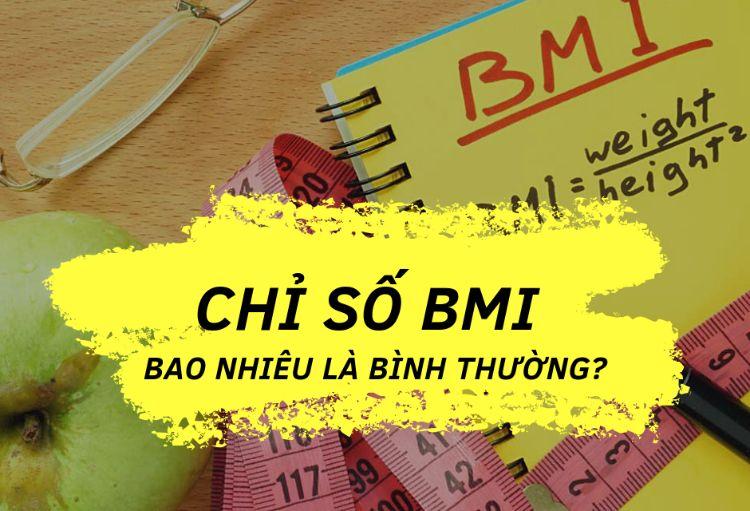 chỉ số BMI bình thường