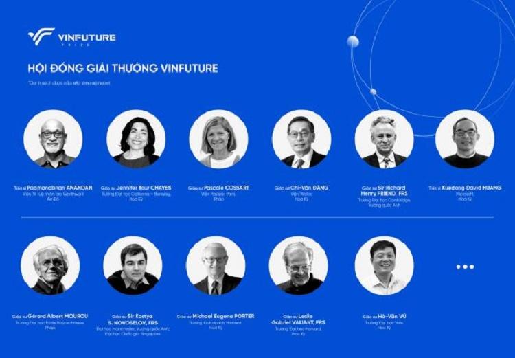 Vingroup công bố Giải thưởng VinFuture khoa học và công nghệ tầm cỡ thế giới của Việt Nam