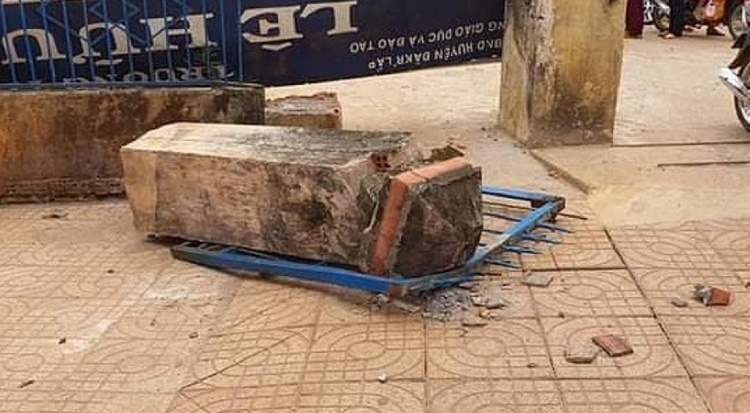 """Vụ sập cổng trường học sinh chết tức tưởi tại Đăk Nông: Chủ tịch UBND tỉnh chỉ đạo """"nóng"""""""