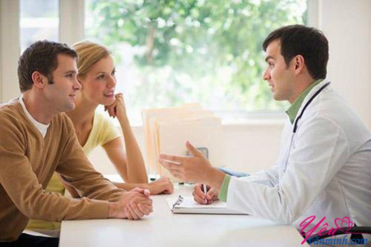 trao đổi cùng bác sĩ