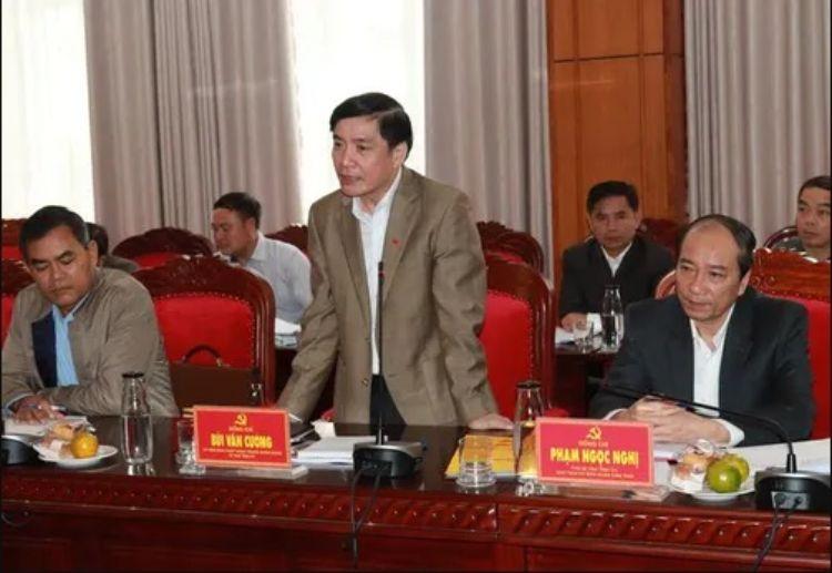 Bí thư Tỉnh ủy Đắk Lắk Bùi Văn Cường
