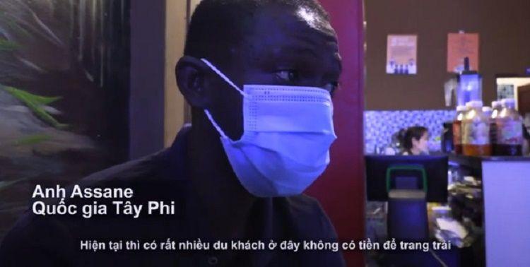 người ngoại quốc mắc kẹt ở Việt Nam