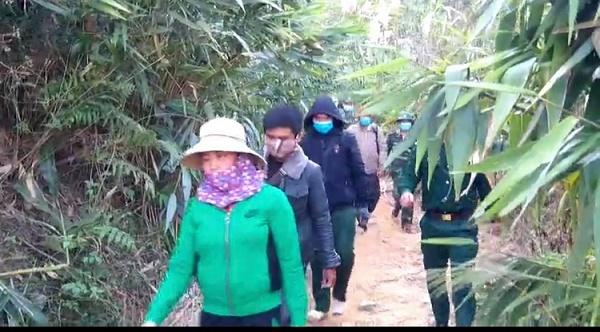 Bắt giữ 6 đối tượng nhập cảnh trái phép tại Kon Tum