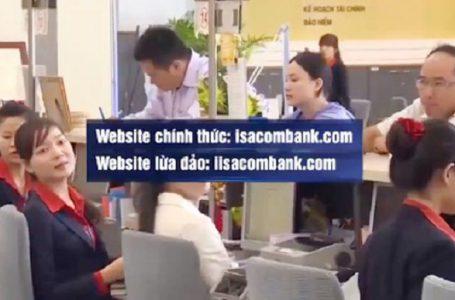 website ngân hàng giả mạo