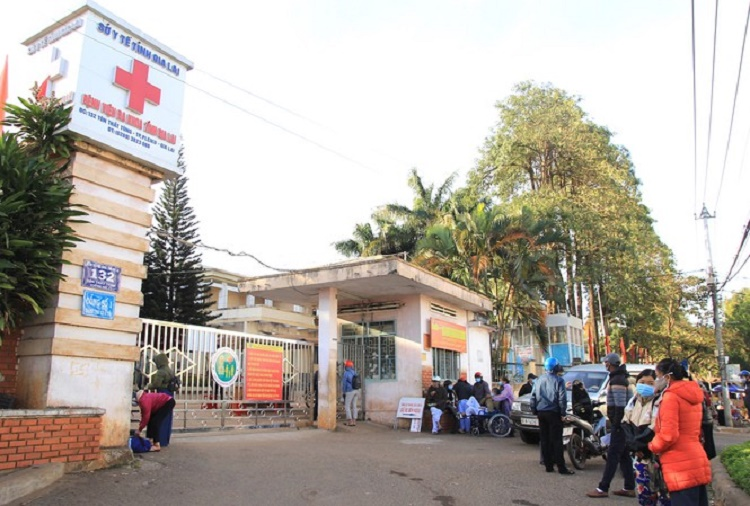 Phát hiện một ca dương tính SARS-CoV-2, Gia Lai phong toả bệnh viện tỉnh