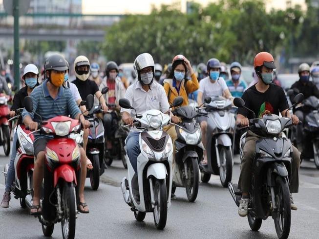 Người tham gia giao thông không đeo khẩu trang sẽ bị phạt nặng