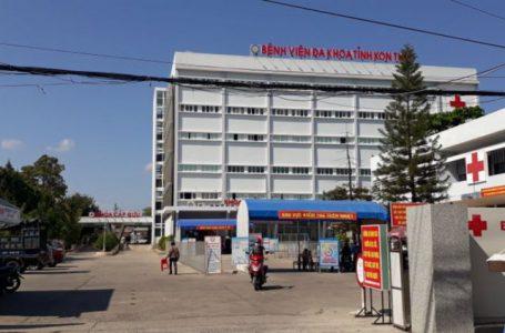 Bệnh nhân A.V và A.Đ đang được điều trị tại BVĐK tỉnh Kon Tum
