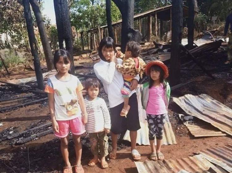 Hỏa hoạn thiêu rụi một căn nhà ở xã Ea Sol (huyện Ea H'leo)