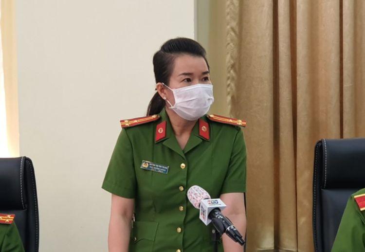 Thượng tá Huỳnh Thị Thu Trang