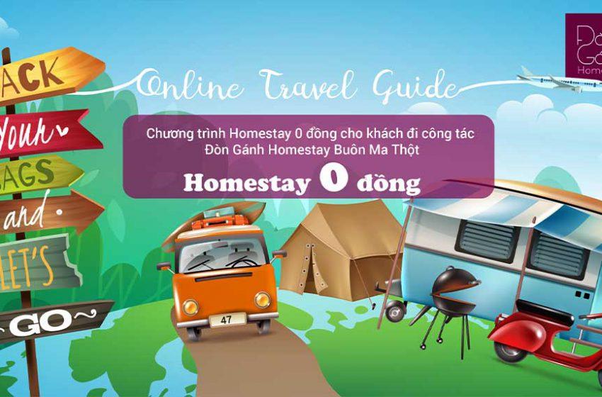 Hot Deal Homestay 0 đồng – Đòn Gánh Homestay Buôn Ma Thuột