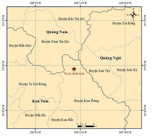 Chỉ trong 1 tháng, diễn ra liên tiếp 11 trận động đất tại Tây Nguyên