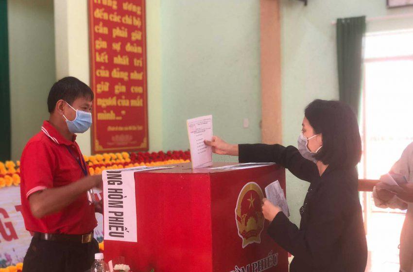 Bầu cử HĐND 23/05: Tổ bầu cử số 8 – Phường Tân Tiến, Buôn Ma Thuột, Đăk Lăk