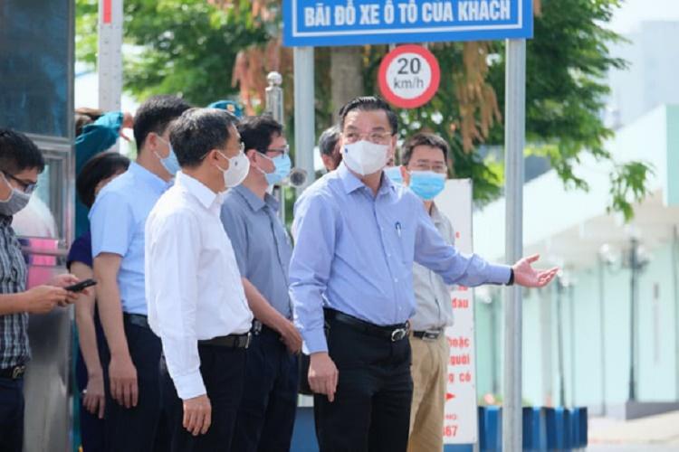 10 ca dương tính tại Bệnh viện K, lãnh đạo Hà Nội đến kiểm tra khẩn cấp