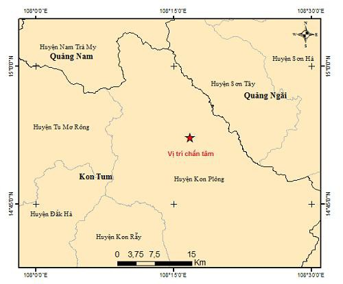 Động đất ở Tây Nguyên ngày càng mạnh, một ngày 5 trận