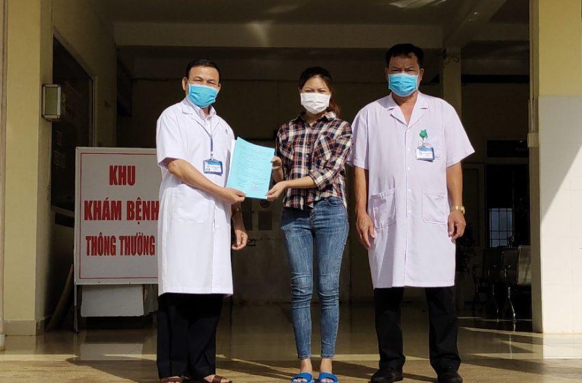 Thêm một bệnh nhân COVID trên địa bàn tỉnh Đắk Lắk được điều trị khỏi và xuất viện