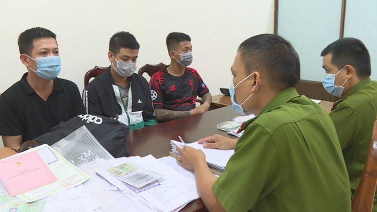 """Bắt giữ nhóm đối tượng từ Hải Phòng vào tỉnh Đắk Lắk hành nghề """"thất đức"""""""