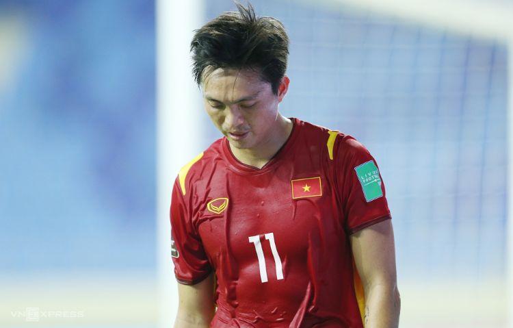 HLV Park Hang Seo gạch tên Tuấn Anh trong danh sách thi đấu trận gặp UAE