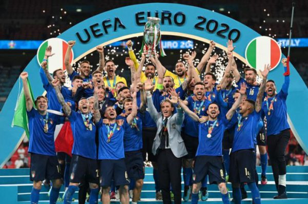 italia vô địch