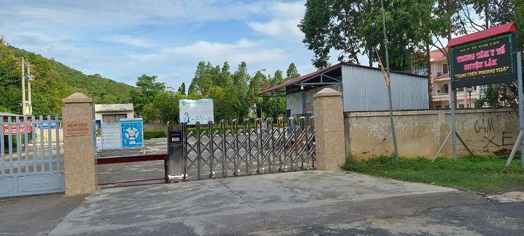 Đắk Lắk: Gỡ phong tỏa Trung tâm Y tế huyện Lắk