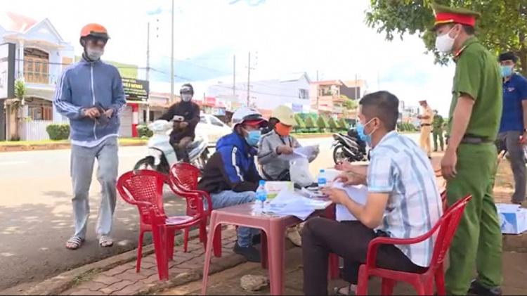 Đắk Lắk: Phạt hơn 100 trường hợp trên 200 triệu đồng do vi phạm quy định phòng chống dịch