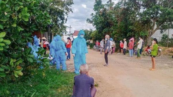 Đắk Lắk: Thiết lập vùng cách ly y tế thôn 6 và thôn 7, xã Vụ Bổn, Huyện Krông Pắk