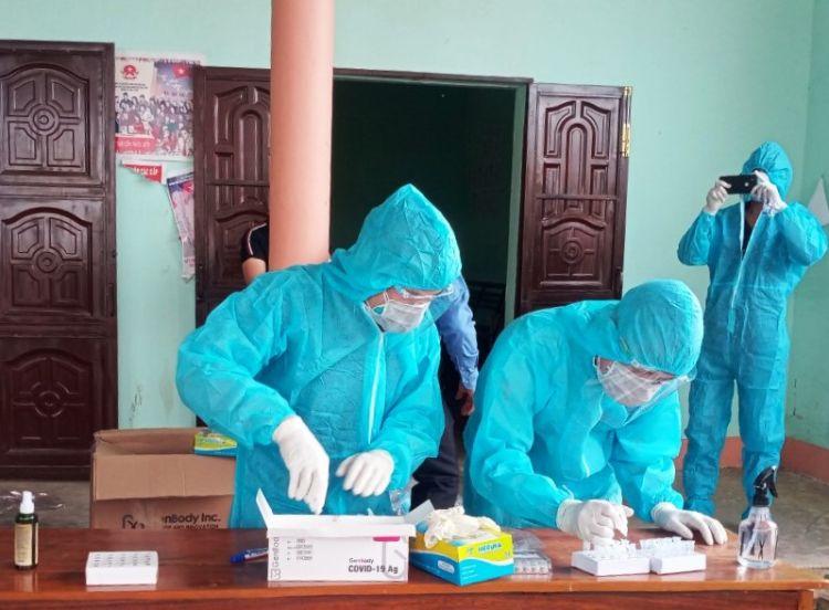 Huyện Krông Pắc: Khẩn trương truy vết, dập dịch