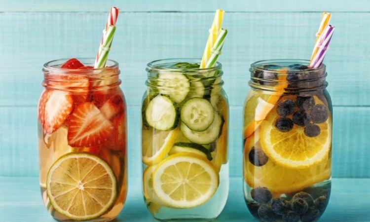 5 cách làm nước detox đẹp da
