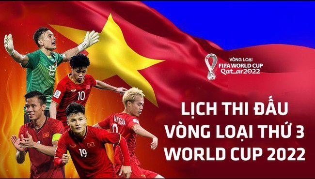 Lịch thi đấu Vòng loại World Cup 2022 châu Á & châu Âu