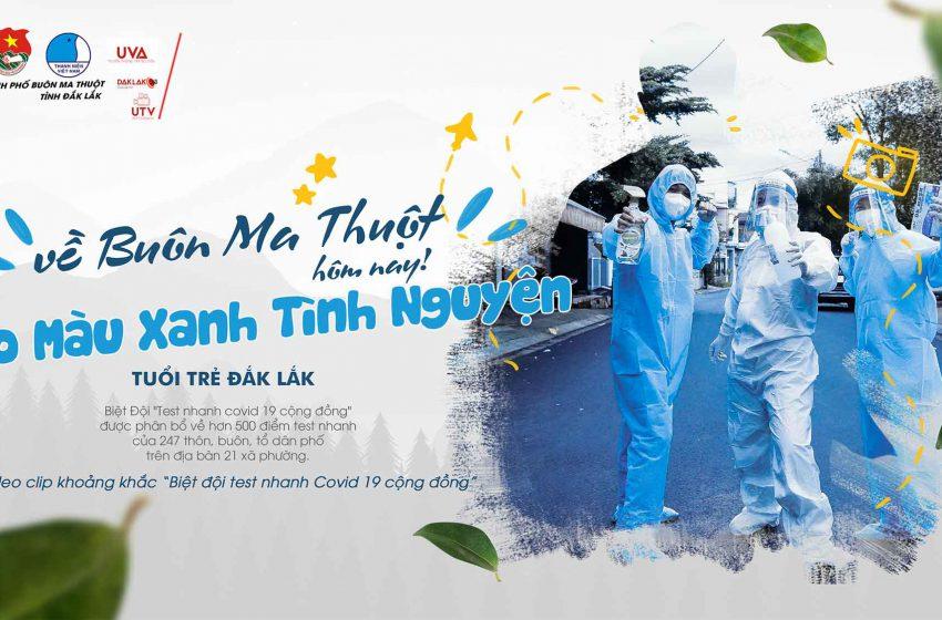 Tuổi Trẻ Đắk Lắk | về BUÔN MA THUỘT hôm nay! Áo màu xanh tình nguyện