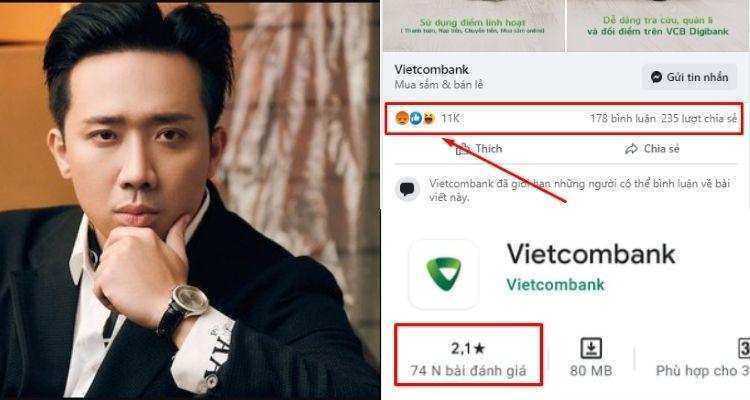 Văn hóa mạng qua việc công kích Vietcombank sau khi Trấn Thành tung 1000 tờ sao kê: Kém và thiếu trách nhiệm!